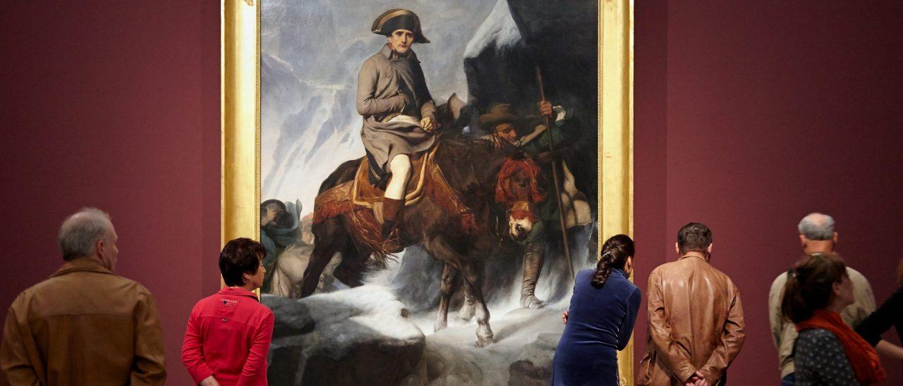 """MdbK, Eugene Delacroix & Paul Delaroche, """"Geschichte als Sensation"""", 11.10.2015 - 17.11.2016"""